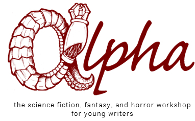 Alpha, the Science Fiction, Fantasy, and Horror Workshop for Young Writers